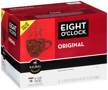 Eight O'Clock Original Keurig Brewed Medium Roast Coffee K-Cup Packs