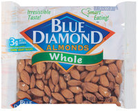 Blue Diamond Whole Almonds 8 Oz Bag