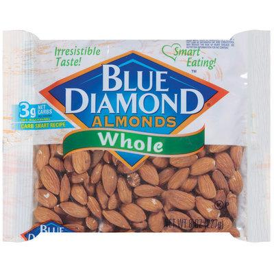 Blue Diamond Whole Almonds 8 Oz Bag