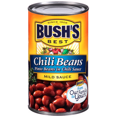Bush's Best® Chili Beans Pinto Beans in Mild Chili Sauce 27 oz. Can