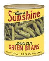 The Allens Sunshine Long Cut Green Beans