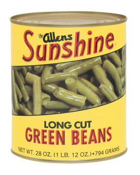 The Allens Sunshine Long Cut Green Beans