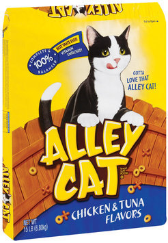 Alley Cat® Chicken & Tuna Dry Cat Food 15 lb. Bag