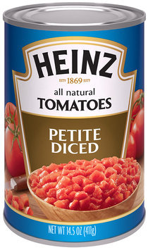 Heinz® Petite Diced Tomatoes 14.5 oz. Can