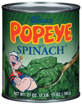 The Allens Popeye Spinach
