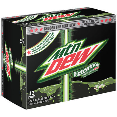 Mountain Dew® Distortion 12 Pack 12 fl. oz. Cans