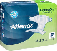 DDC25 Attends® DermaDry™ Complete Regular Briefs, 20 count