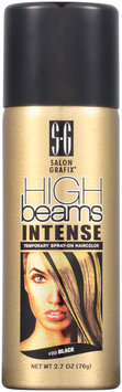 Salon Grafix® High Beams Intense Temporary Spray-On Hair Color #20 Black 2.7 oz. Aerosol Can