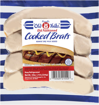 Old Fashioned Cooked Brats
