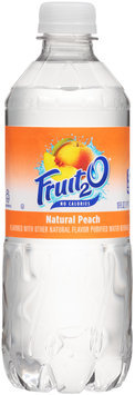 Fruit2O® Natural Peach Purified Water Beverage 16 fl. oz. Bottle