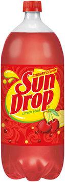 Sun Drop® Cherry Lemon Citrus Soda 2L Bottle