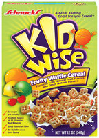 Schnucks Kid Wise Fruity Waffle Cereal 12 Oz Box
