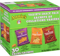 Annie's®  Homegrown  Cheddar Bunnies Bunny Grahams Variety Snack Pack