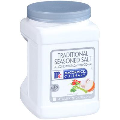 McCormick Culinary® Traditional Seasoned Salt 4.5 lb. Tub