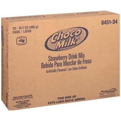 Choco Milk® Strawberry Drink Mix 12-14.1 oz. Cans