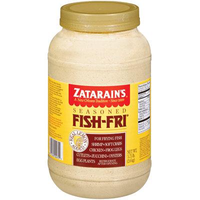 Zatarain's® Fish-Fri® Seasoned Seafood Breading Mix 5.75 lb. Jar