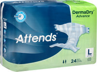 DDA30 Attends® DermaDry™ Advance Large Briefs, 24 count
