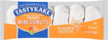 Tastykake® Summer Edition Orange Mini Donuts 3 oz. Pack