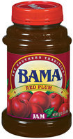 Bama Spreads Red Plum, Modified 6/30/07 Jam 32 Oz Plastic Jar