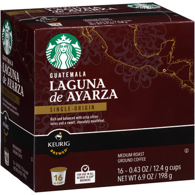 Starbucks™ Guatemala Laguna de Ayarza Ground Coffee