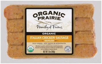 Organic Prairie Organic Italian Chicken Sausage 4 ct Package