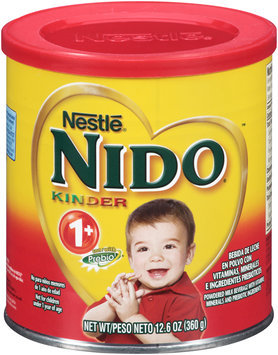 Nestlé NIDO Kinder 1+ Powdered Milk Beverage 12.6 oz. Canister