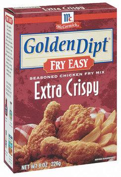 Golden Dipt Extra Crispy Seasoned Chicken Fry Mix Fry Easy 8 Oz Box