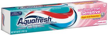 Aquafresh® Triple Protection® Maximum Strength Sensitive Smooth Mint Toothpaste 5.6 oz. Box