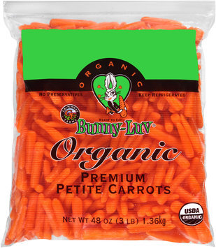 Grimmway Farms Bunny-Luv® Organic Premium Petite Carrots 3 lb. Bag