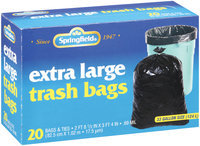 Springfield®  Trash Bags