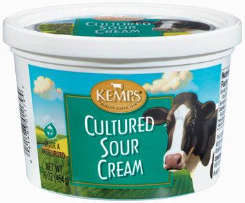 Kemps Cultured Sour Cream 16 Oz Carton