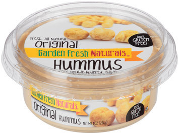 Garden Fresh Naturals® Original Hummus 8 oz. Tub