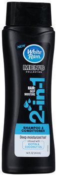 White Rain® Men's Collection 2-in-1 Deep Moisture Shampoo & Conditioner 14 fl. oz. Bottle
