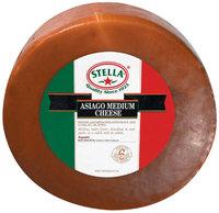 Stella® Asiago Medium Cheese 20 Lb Wheel
