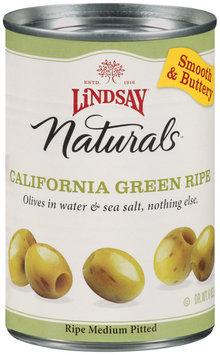 Lindsay Naturals California Green Ripe Olives