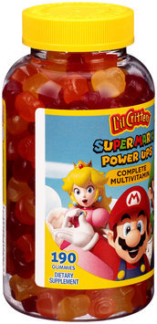 L'il Critters™ Super Mario™ Power Ups Complete Multivitamin Dietary Supplement Gummies 190 ct Bottle