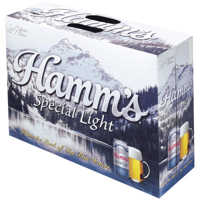 Hamm's Special Light 12 Oz Cans Beer 24 Pk Suitcase