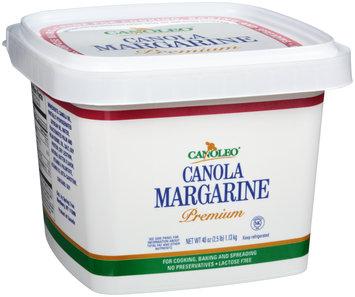 Canoleo® Premium Canola Margarine 40 oz. Tub