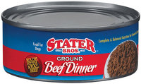 Stater Bros. Ground Beef Dinner Food For Dogs 5.5 Oz Can