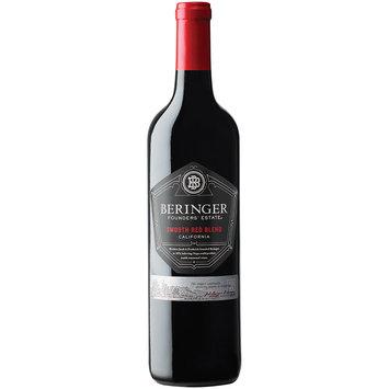 Beringer Founders' Estate® California Smooth Red Blend Wine 750mL Glass Bottle