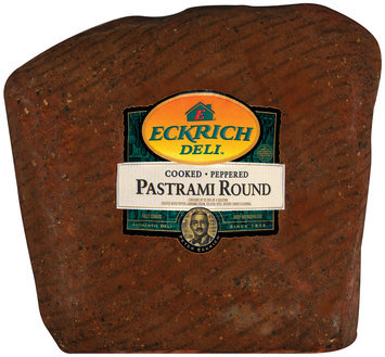 Eckrich Cooked Peppered Pastrami Round Deli - Pastrami