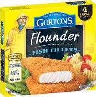 Gorton's® Flounder Fish Fillets 15.2 oz. Box