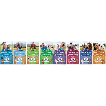 Purina Dog Chow Healthy Weight Dog Food Family Group Shot