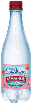 Arrowhead® Sparkling Watermelon Lime Mountain Spring Water 16.9 fl. oz. Plastic Bottle