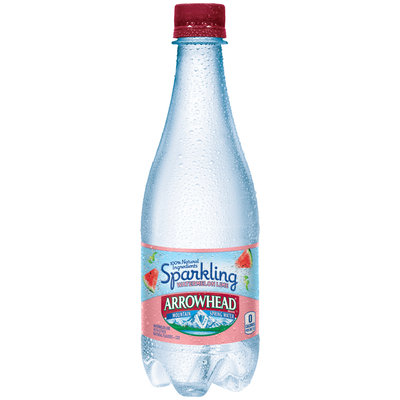 Arrowhead® Sparkling Watermelon Lime Mountain Spring Water 16.9 fl. oz. Plastic Bottle