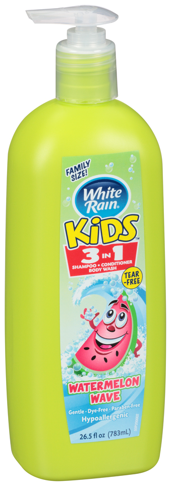 White Rain® Kids™ Watermelon Wave 3 in 1 Shampoo/Conditioner/Body Wash 26.5 fl. oz Pump
