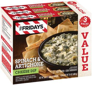 TGIFriday's® Spinach & Artichoke Cheese Dip 3 ct Box