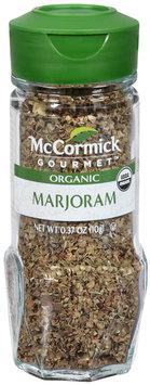 McCormick Gourmet™ Organic Marjoram 0.37 oz. Shaker