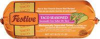 Festive Taco Seasoned Ground Turkey