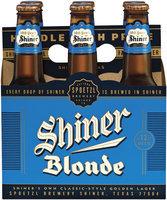 Shiner Blonde Beer